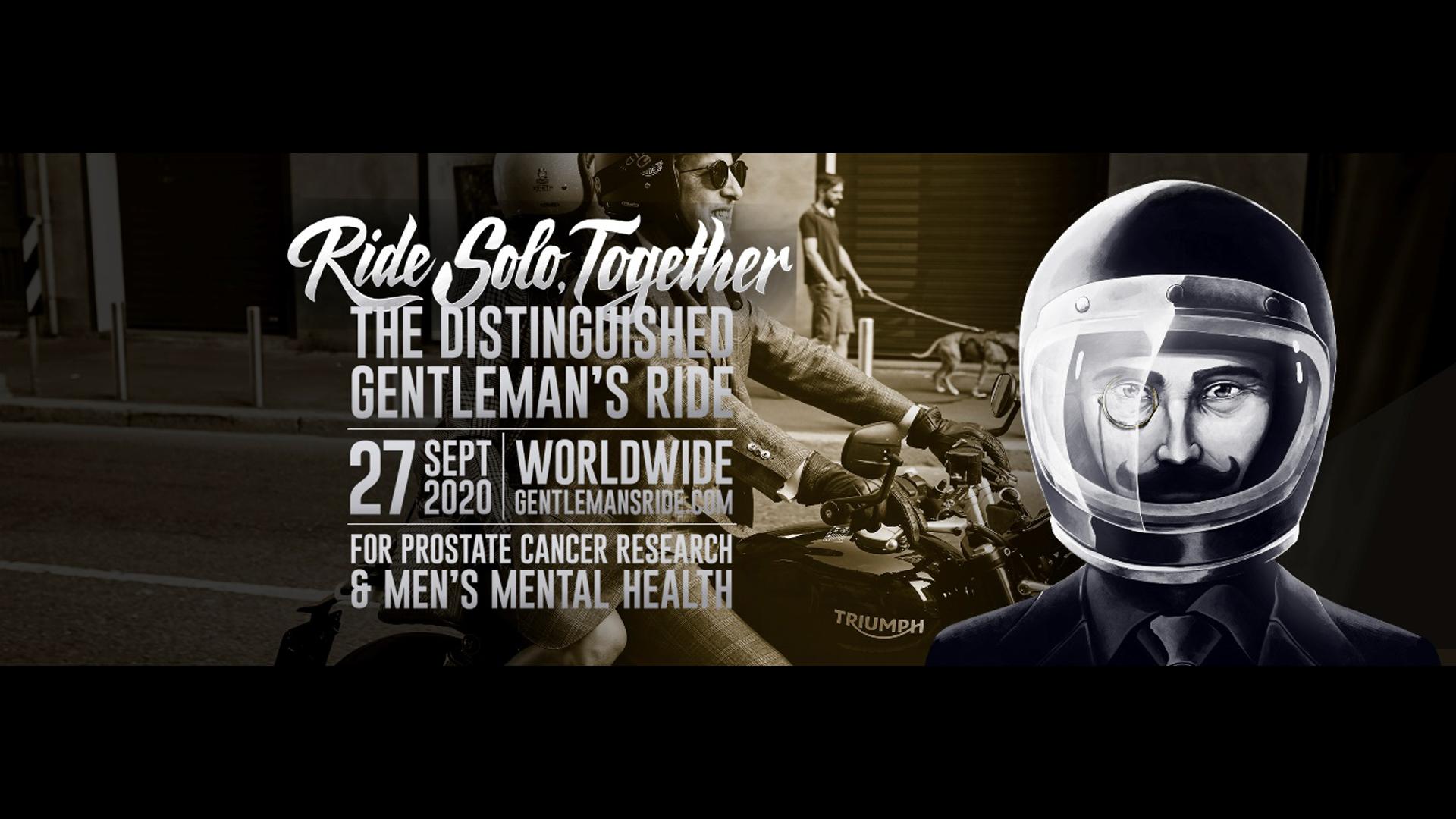 2020 Distinguished Gentleman's Ride 9月27日(日)開催